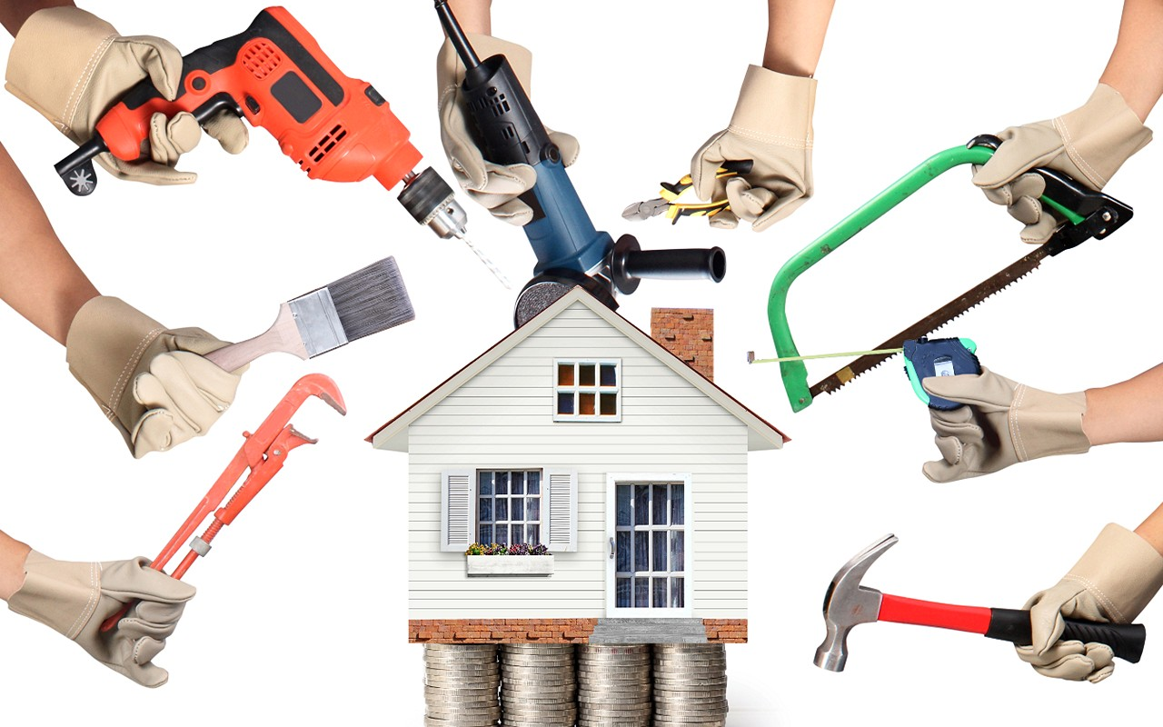 Professional handyman services houston houston handyman for Wallpaper home renovation